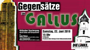 Gegensätze im Gallus @ Europaviertel, Frankfurt