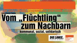 """Vom """"Flüchtling"""" zum Nachbarn. kommunal, sozial, solidarisch @ Evangelische Akademie Frankfurt"""
