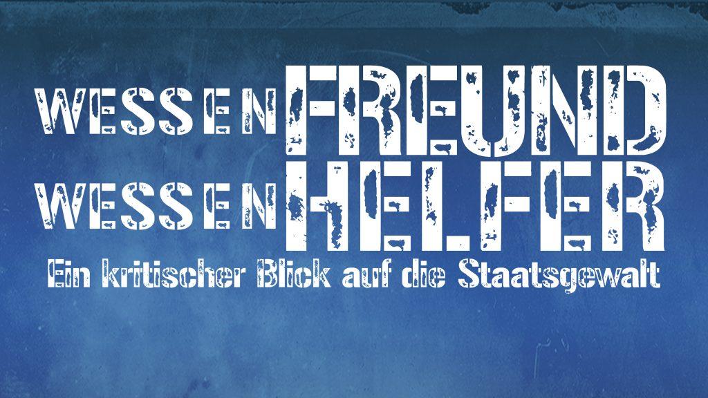 Wessen Freund - Wessen Helfer: Podiumsdiskussion @ Haus am Dom